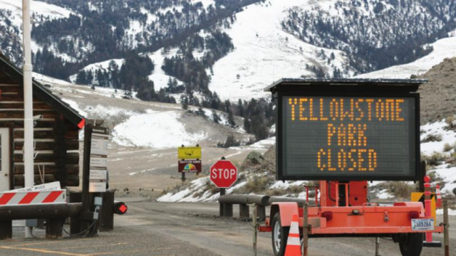 Superintendent deals with closure of Yellowstone Park